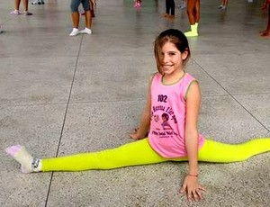 Projeto ginástica al (Foto: Divulgação/Projeto Vôlei Futuro)