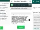 WhatsApp suspende repasse de dados ao Facebook na Europa