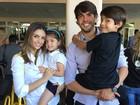 Carol Celico publica foto ao lado de Kaká e fãs pedem a volta do casal
