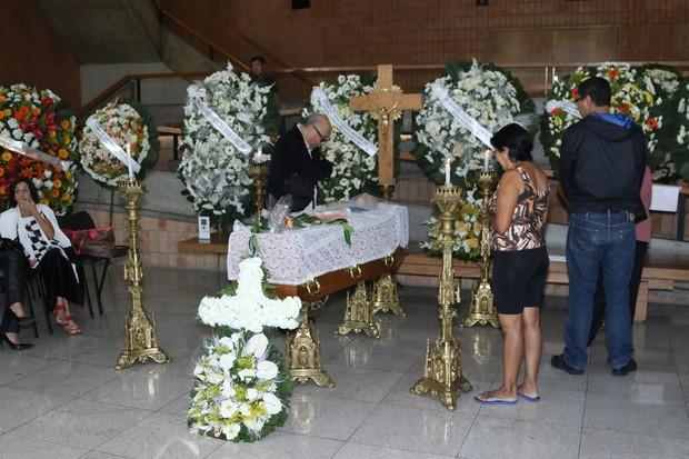 Velório de Antônio Abujamra (Foto:  Thiago Duran/AgNews)