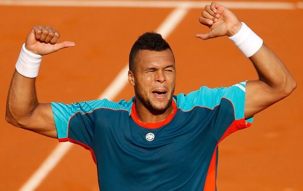 Tsonga, Roland Garros (Foto: Agência Reuters)