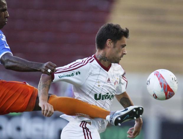 Rafael Sobis, Duque de Caxias x Fluminenseq (Foto: Ricardo Ayres/Photocamera)