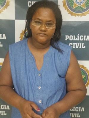 Maria Ivaneide foi presa em flagrante (Foto: Divulgação / Polícia Civil)