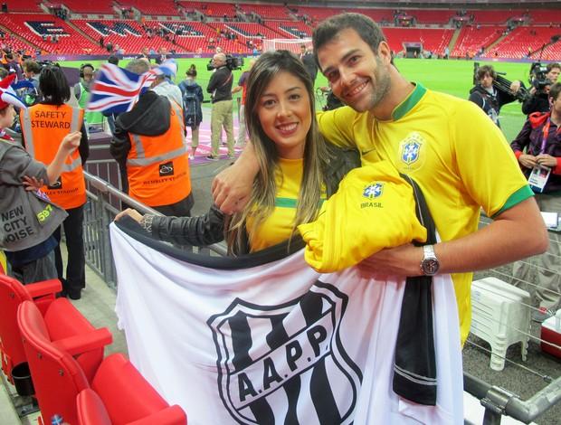 Brasileiros Wembley futebol olimpíadas (Foto: Cahê Mota / Globoesporte.com)