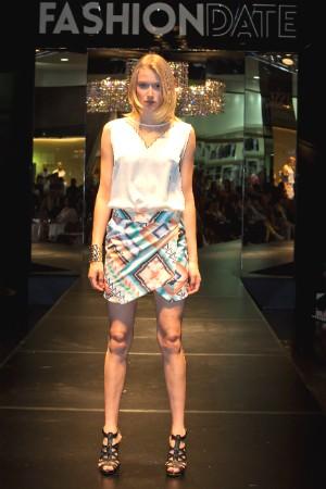 Vencedora do Verão Top Model desfilou em Blumenau (Foto: José Luiz Somensi/Divulgação)