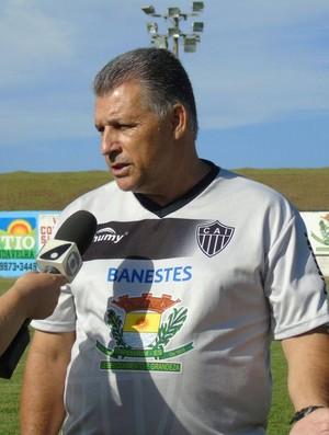 Zé Humberto, técnico do Atlético-ES (Foto: Divulgação)