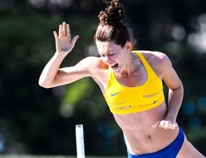 Fabiana Murer leva bronze em Estocolmo pela Diamond League (Foto: Agência Luz / BM&FBOVESPA)