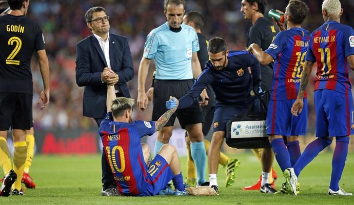 Lionel Messi - Barcelona (Foto: Reprodução/Twitter)