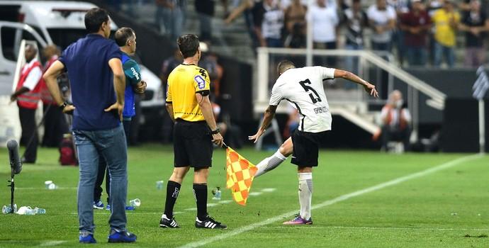 Gabriel Corinthians Palmeiras (Foto: Marcos Ribolli)
