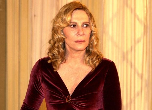 Renata Sorrah caracterizada como Nazaré Tedesco, a grande vilã de 'Senhora do Destino' (Foto: Divulgação/TV Globo)