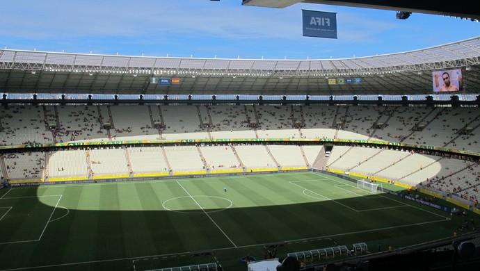 TR Estádio Castelão Fortaleza dia (Foto: Alexandre Alliatti)