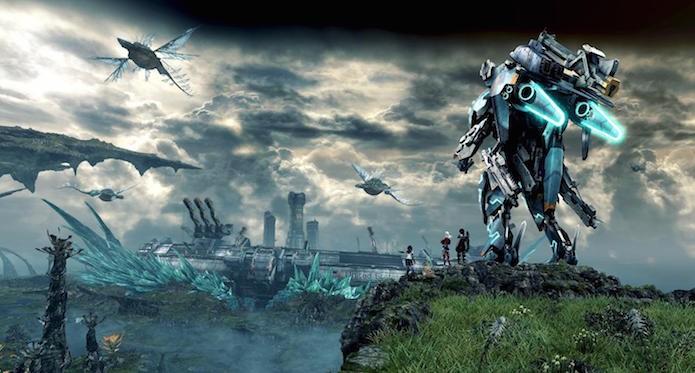 Xenoblade Chronicles X: explorar o mapa é uma tarefa imprescindível (Foto: Divulgação/Nintendo)