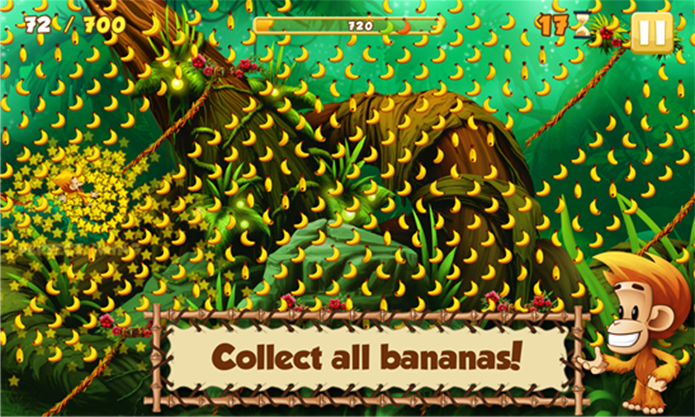 Benji Bananas Adventures é um divertido game para Windows Phone (Foto: Divulgação/Windows Phone Store)