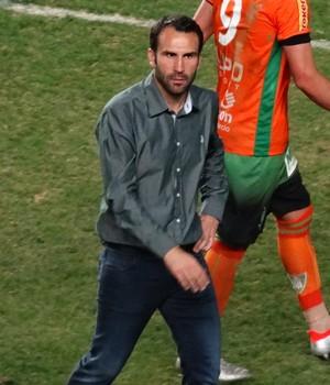 Sérgio Vieira elogiou garra da equipe americana contra o Fortaleza (Foto: Maurício Paulucci)