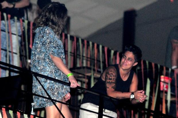 Thammy Miranda e namorada (Foto: Roberto Teixeira)