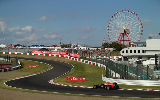 Mark Webber GP do Japão 2013 (Foto: Getty Images)