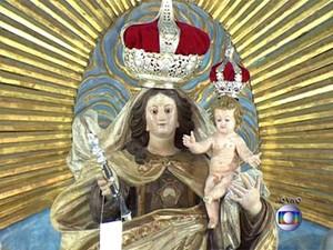 Nossa Senhora do Carmo (Foto: Reprodução / TV Globo)