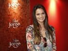 Bruna Marquezine brilha em evento de 'Salve Jorge' e fala de Neymar