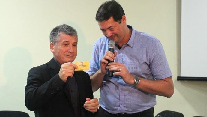 Nereu Martinelli Jony William Stassun Joinville (Foto: João Lucas Cardoso/JEC)