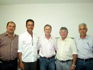 Prefeitos Triângulo Mineiro (Foto: Prefeitura Municipal de Uberaba/Divulgação)