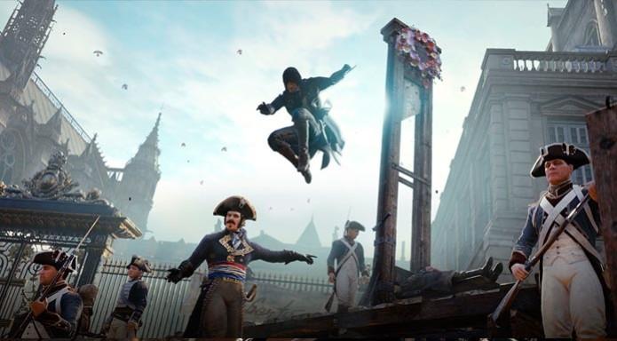 """Assasssin's Creed Unity está concorrendo na categoria de """"Melhor jogo de ação/aventura"""" (Foto: Divulgação) (Foto: Assasssin's Creed Unity está concorrendo na categoria de """"Melhor jogo de ação/aventura"""" (Foto: Divulgação))"""