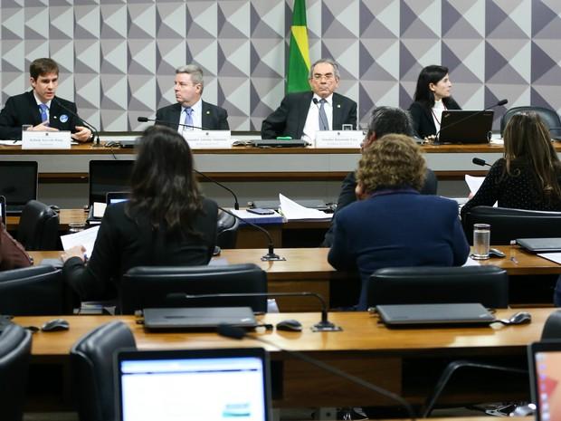 Comissão Processante do Impeachment ouve Robson Azevedo Rung, coordenador-geral de Tecnologia e Informação da Secretaria de Orçamento Federal, como testemunha de defesa da presidenta afastada Dilma Rousseff (Foto: Marcelo Camargo/Agência Brasil)