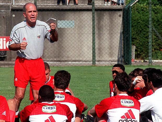 Mario Sérgio internacional treino (Foto: Agência Estado)