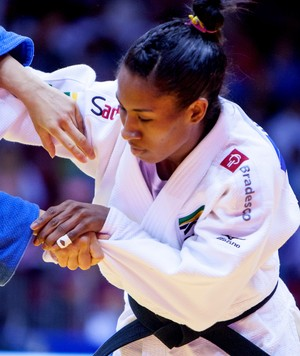 Judô Ketleyn Quadros mundial (Foto: Rafael Burza/CBJ)