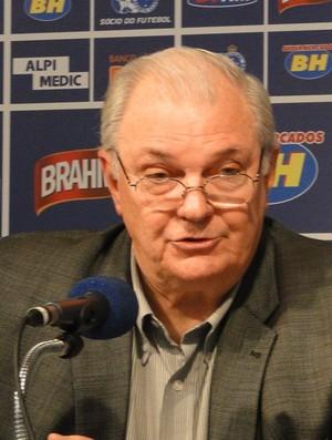 Gilvan de Pinho Tavares, presidente do Cruzeiro (Foto: Gabriel Duarte)