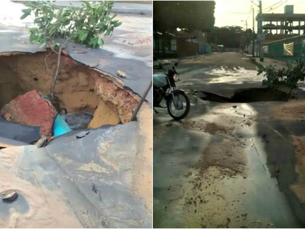 Problema comprometeu abastecimento de água (Foto: Manaustrans/Divulgação)
