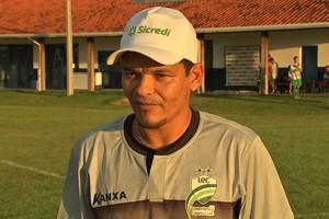 Odil Soares, técnico Luverdense (Foto: Reprodução/TVCA)