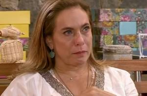 Zizi e Luiza Possi levam Cissa Guimarães às lágrimas (TV Xuxa / TV Globo)