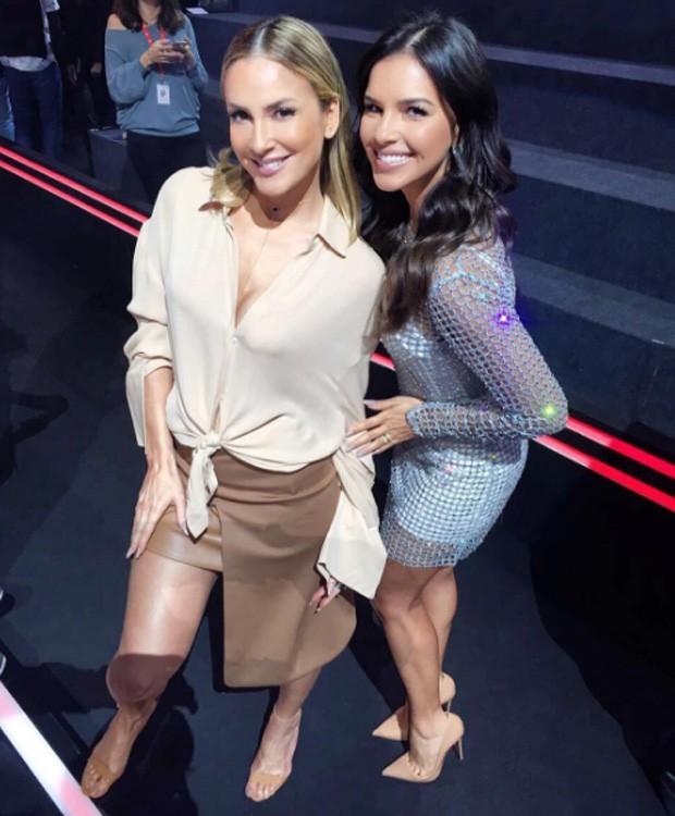 Claudia Leitte e Mariana Rios (Foto: Reprodução)