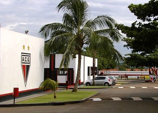 CCT do Atlético-GO no Urias Magalhães (Foto: Reprodução/TV Anhanguera)