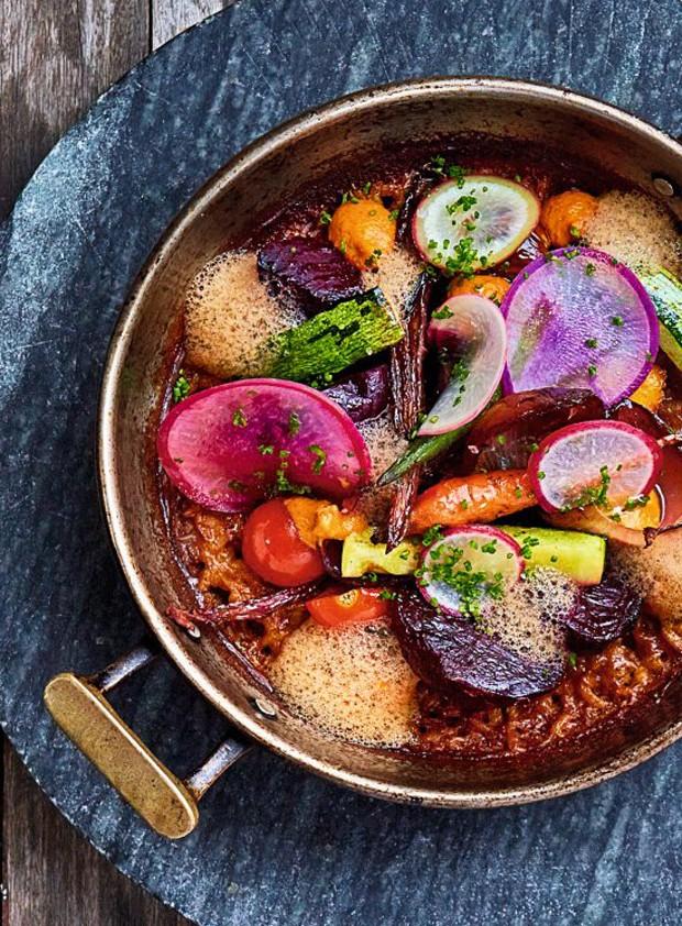 Arroz espanhol com vegetais, do Cór (Foto: Divulgação)