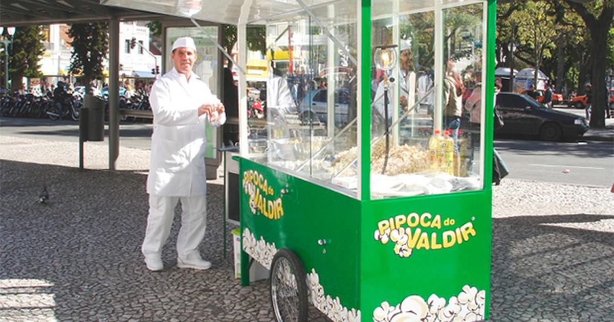 Pipoqueiro Valdir se apresenta em Chapadão do Sul e Costa Rica