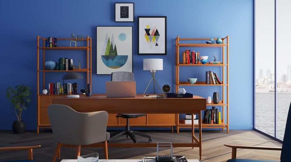 Home office, empresa, empreendedor, casa (Foto: Reprodução/Pexel)