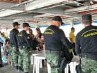 PM apreende 6kg de cocaína em barco no porto de Tabatinga, no AM