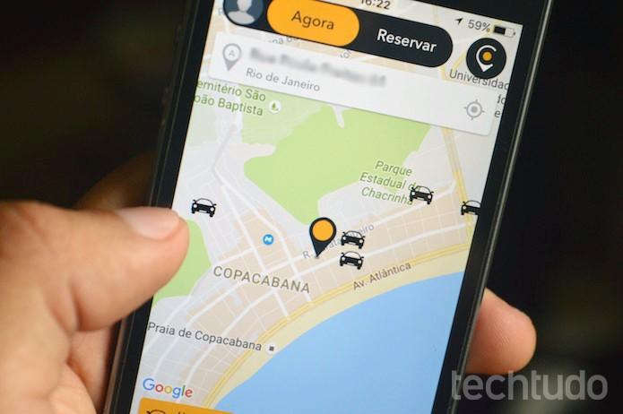 Como convidar amigos para o Cabify (Foto: Marvin Costa/TechTudo)