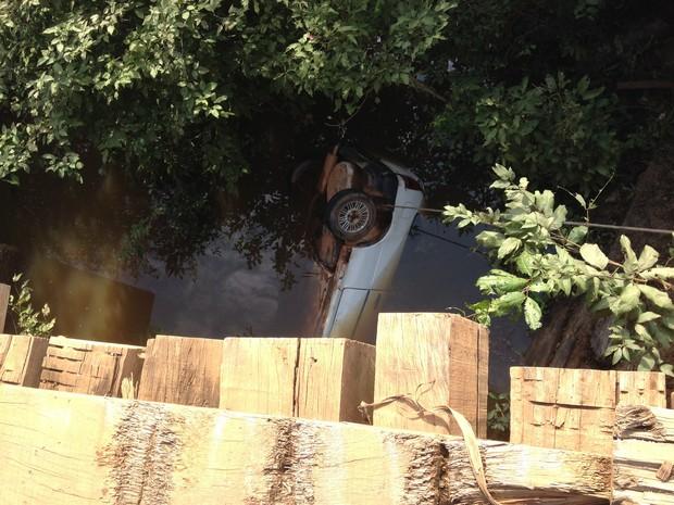 Dois homens morreram no acidente (Foto: Júnior Freitas/G1)