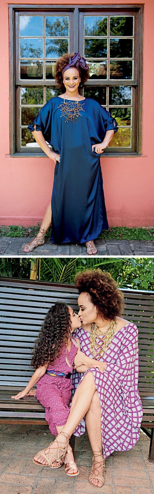 Luciana e Nina (Foto:  )