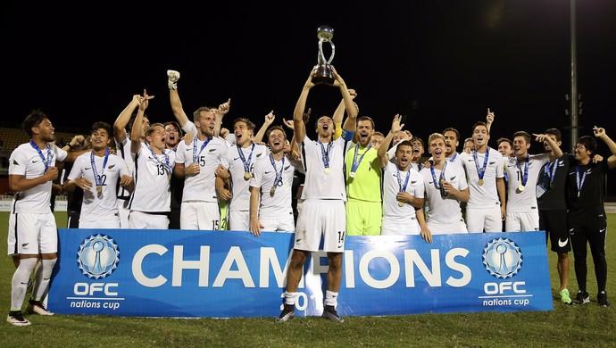 Nova Zelândia campeã da Copa da Oceania (Foto: OFC)