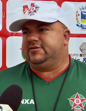 Julinho Camargo técnico Boa Esporte (Foto: Reprodução EPTV)