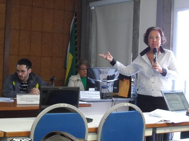 Eulina Nunes dos Santos, coordenadora de Índices de Preços do Instituto Brasileiro de Geografia e Estatística (IBGE) (Foto: Lilian Quaino\G1)