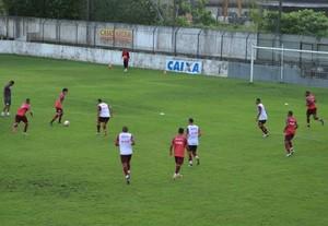 CRB treina no Nelsão (Foto: Jota Rufino/GloboEsporte.com)