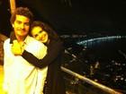 Paloma Bernardi abre o baú de fotos com Thiago Martins e celebra relação