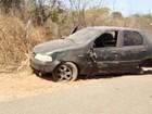 Carro capota na BR-316 em Teresina e deixa quatro pessoas feridas