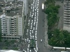 Protesto dos taxistas contra Uber complica trânsito no Recife