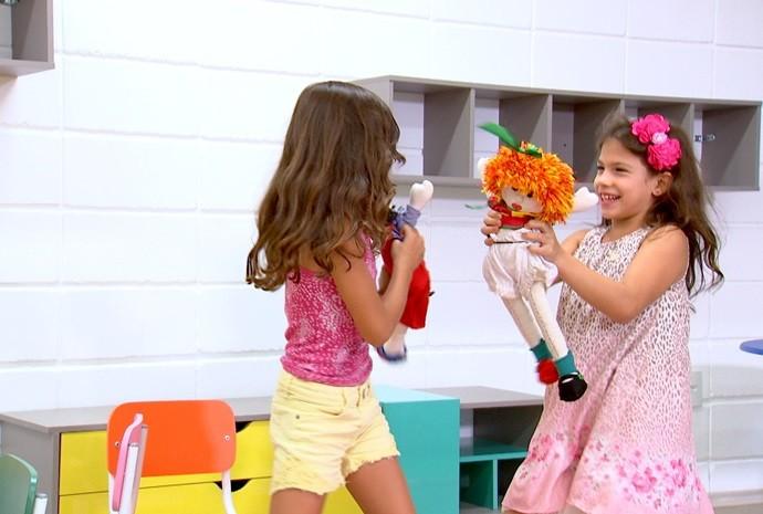 Algumas amizades começam na infância e duram a vida toda! (Foto: Reprodução / TV TEM)