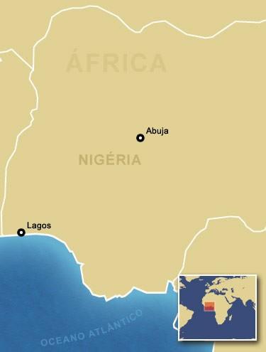 Aeronave fazia a rota entre a capital Abuja e Lagos. (Foto: Ilustração: Arte/G1)